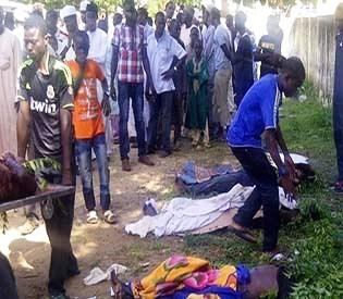 hromedia - Nigeria Militants kill students in college attack