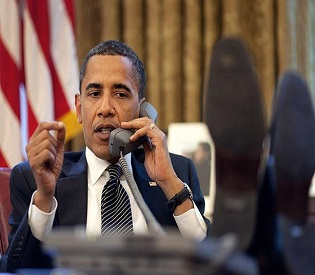 hromedia Obama urges world support for strike on Syria arab uprising2