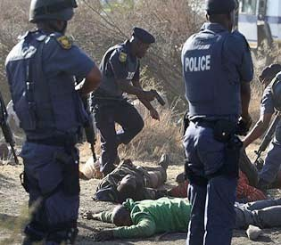 hromedia - South African commission accuses police of lying1