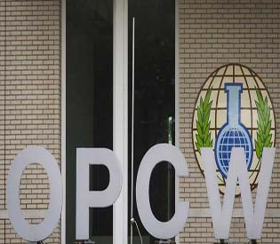 hromedia - Syria submits chemical arms information to OPCW1