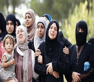 hromedia Syrian girl gang-raped in refugee camp arab uprising3