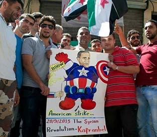 hromedia - Syrian opposition condemns al-Qaida militants1