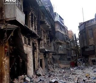 hromedia Syrian regime shelling near Damascus kills 16 arab uprising2