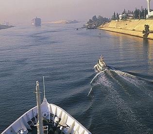 hromedia 'Terrorist' attack on Suez Canal ship fails arab uprising2