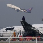Thai Airways skids off runway, 14 passengers injured