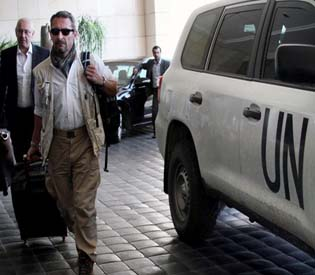hromedia - UN chemical inspectors to probe 7 sites in Syria