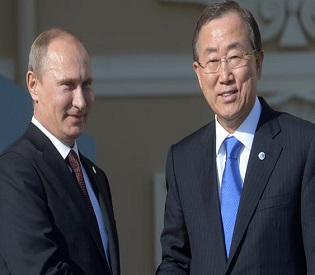 hromedia UN chief Ban Ki-moon urges political solution in Syria at G-20 summit intl. news2