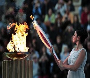 hrmedia Olympic flame arrives in Russia ahead of Sochi eu news2