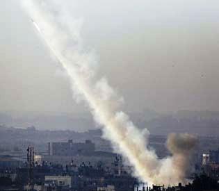 hromedia - 2 rockets fired from Gaza Strip