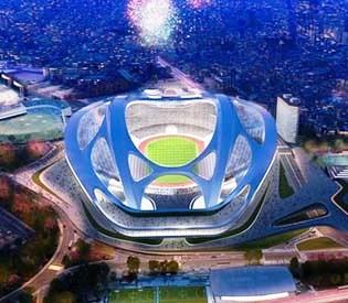 hromedia - 2020 Tokyo Olympic stadium is too big