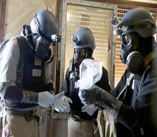 hromedia - 2nd chemical weapons team