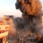 Bomb near Syrian capital kills 16