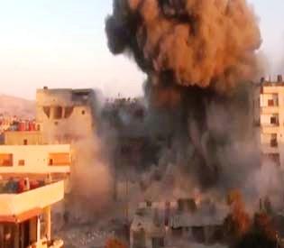 hromedia - Bomb near Syrian capital kills 16