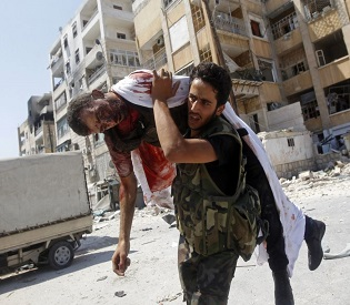 hromedia Clashes in east Syria kill more than 40 fighters arab uprising2