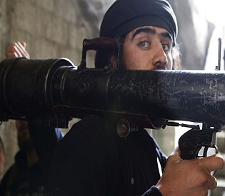 hromedia Deadly blast near Syria capital 'kills 16 soldiers' arab uprising2