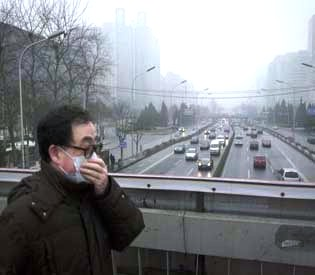 hromedia - Heavy smog in north China leads to flights cancellation