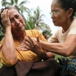 Muslim victims say Myanmar police aided attackers