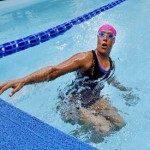 Record breaker Nyad attempts 48-hour swim in NYC