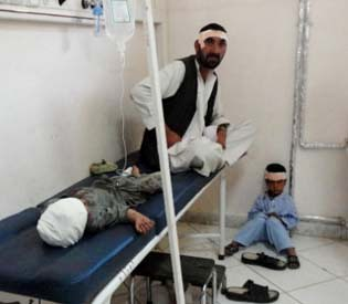 hromedia - Suicide attack in Afghanistan kills 4 people