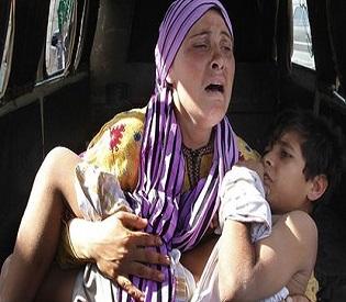 hromedia Suspected polio outbreak spreads in Syria arab uprising2