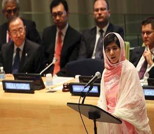 hromedia - Taliban shooting survivor speaks in I Am Malala