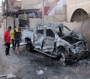 hromedia - Wave of bomb blasts rock Iraqi capital, killing 30