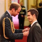 Wimbledon champion Murray receives royal honor