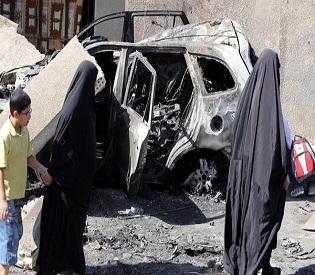 hromedia Woman caught planting bomb near Iraq school arab uprising2