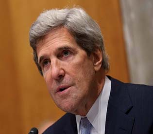 Kerry calls for conference on Syria transition