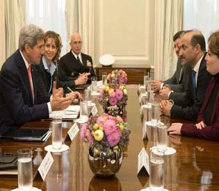 john-kerry-ahmed-al-jarba  - Extremist groups hobble Syrian peace negotiations