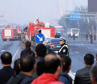 hromedia - 1 killed, 8 injured in northern China explosions