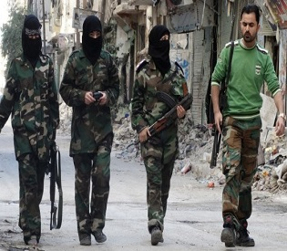hromedia 160 rebels, troops dead near Damascus in 2 days arab uprising2