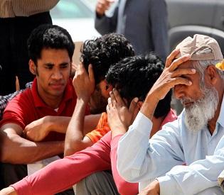 hromedia A dream ends, Illegal residents rush to leave Saudi Arabia arab uprising2
