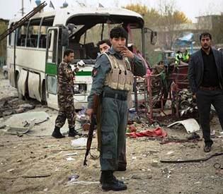 hromedia - Bomber kills 6 in Afghanistan ahead US deal talks