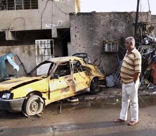 hromedia - Double bombing kills 5 Sunni worshippers in Iraq