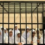 Egypt court hands heavy prison sentences to Islamist women protesters