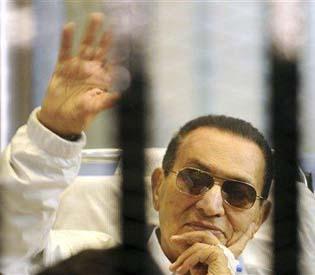 hromedia - Egypt's Mubarak to return to prison