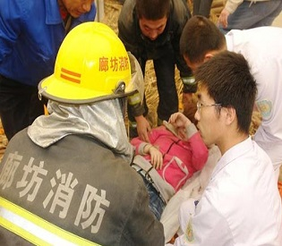 hromedia Factory roof collapses in China, killing 9 intl. news2