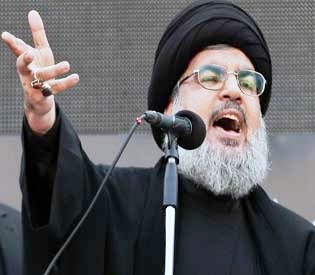hromedia - Hezbollah chief vows to continue fighting in Syria