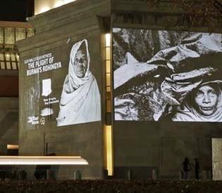 hromedia - Holocaust museum highlights Myanmar's Rohingya