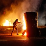 Over 2000 trucks block French highways in protest