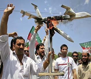 hromedia - Rare US drone strike kills at least 5 in Pakistan