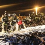 Russian investigators seek clues on plane crash