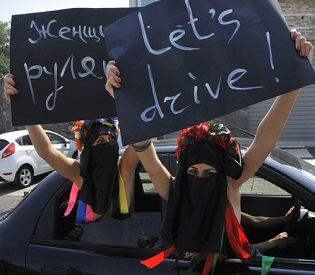 hromedia Saudi Arabia is reassessing ban on women drivers arab uprising2