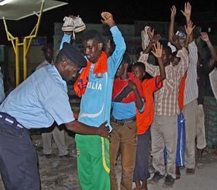 hromedia - Somali police struggle to stop deadly attacks