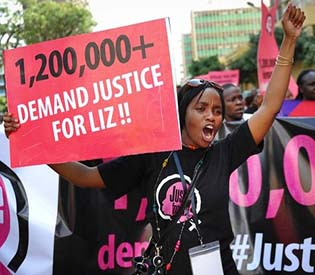 hromedia - Teen's rape galvanizes support in Kenya