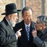 UN Secretary-General Ban Ki-moon pays tribute to victims of Auschwitz death camp