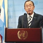 UN chief says Syrian war seriously affects Lebanon