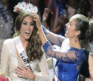 hromedia - Venezuelan crowned Miss Universe