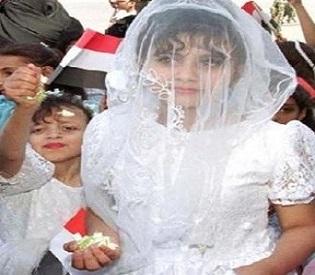 hromedia Yemen activists prevent wedding of 12-year-old girl arab uprising1